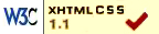 successfully checked as XHTML
