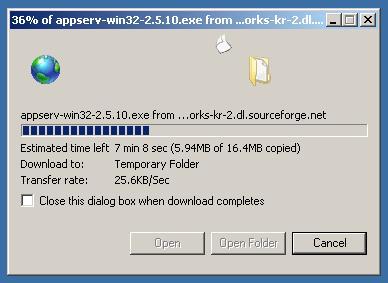วิธีติดตั้งและใช้งาน AppServ อย่างละเอียด