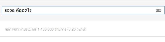 SOPA คืออะไร