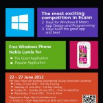 Windows Phone Hackathon: The most exciting competition in Esaan