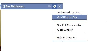 ทำไมถึงไม่เห็น เพื่อนบางคนออนไลน์ใน Facbook