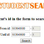 KKU Student Search Picture