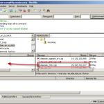 download file using filezilla