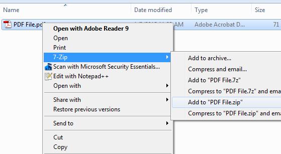 ขั้นตอนการลดขนาดไฟล์ PDF