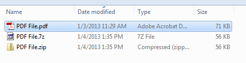 หลังการลดขนาดไฟล์ PDF