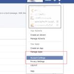 ตั้งค่าบัญชี Facebook
