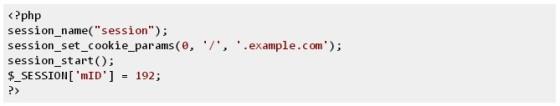 ปัญหาในการใช้ session ใน php