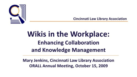 The Wiki Workplace