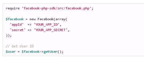Require Facebook SDK