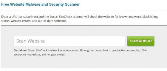 Scanner Website