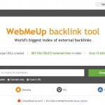 WebMeUp backlink tool